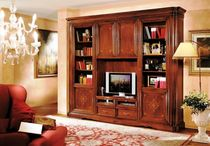 traditional wooden TV wall unit ART.725 VACCARI CAV. GIOVANNI