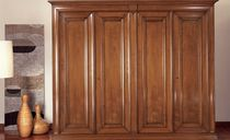 traditional wooden wardrobe M17C by Laura Silvestrini LE FABLIER