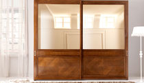 traditional wooden wardrobe with sliding doors LUNGARNO DELLA SIGNORIA 945 by P. Pradella  MASSON MATIEE