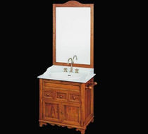 traditional wooden washbasin cabinet 4489/M BIANCHINI & CAPPONI