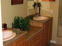 traditional wooden washbasin cabinet  ASMAZ WOOD FRAME CUSTOM HOMES