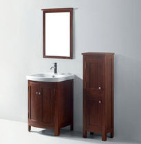traditional wooden washbasin cabinet KERRY 200 Suncoo