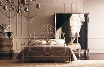traditional wrought iron double bed RIALTOS GIUSTI PORTOS