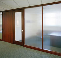 translucent glass removable partition GENIUS KI