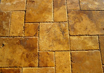 travertine tile GOLD TRV OPUS PATTERN Stoneline