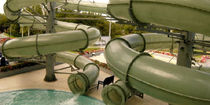 tube slide for aquatic-parks 1000 POL -GLASS