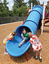 tube slide for playground STRAIGHT TUBE little tikes