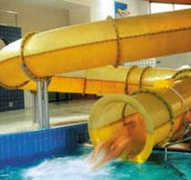 tube slide for aquatic-parks  POL -GLASS
