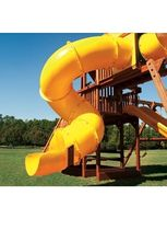 tube slide for playground  RTS Plastics