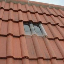 tubular skylight CONCRETE DOUBLE ROMAN TILE  Suntile