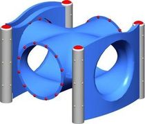 tunnel for playground MEC116 BigToys