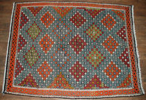 turkish kilim rug in wool  ottomanrug
