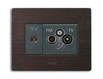 TV-RD-SAT socket NOIR AX SERIES Ave spa