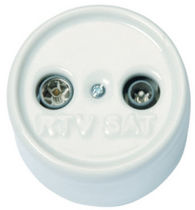 TV-SAT socket GARBY FONTINI