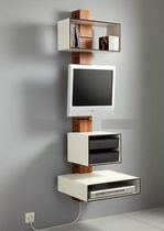 TV stand CONTAIN ME 1 by Julia Pfizenmayer HOLZ MANUFACKTUR