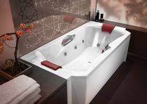 two seater built-in hydromassage bath-tub EMOTION Kinedo/watermatic