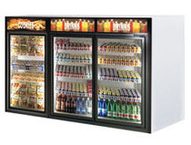 upright bar refrigerator SELF Misa