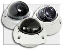 vandal proof CCTV dome video camera  DEDICATED MICROS