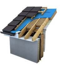 vapour-permeable underlay sheet for roofing SOLITEX PLUS Ecological Building Systems 