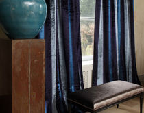 velvet fabric for upholstery ASTRALE &amp; BOREALE VEREL DE BELVAL