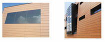 ventilated photovoltaic facade solar panel ECOCERAVOLT FAVEMANC
