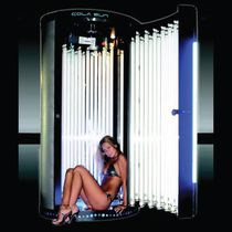 vertical tanning booth BREEZER : COLA SUN BRONZE ITALIA