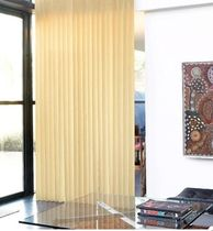 vertical woven-wood sliding panel blind AMIDRAP AMI A. LENGLART