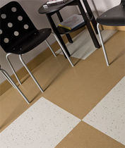 vinyl floor tile (FloorScore® certified, low VOC emissions) SAFETCORK® Roppe Corporation