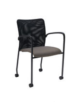 visitor chair with casters SOCIAL SitOnIt Seating