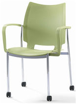 visitor chair with casters I-STACK Source International