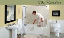 walk-in bath-tub for the disabled THE PARADISE Seabridge BATHING