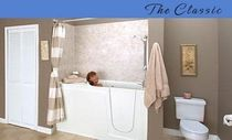 walk-in bath-tub for the disabled THE CLASSIC Seabridge BATHING