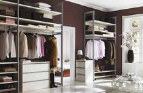 walk-in wardrobe CORNICE Raumplus