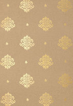 wall fabric: damask MAYLA DAMASK GILT F. SCHUMACHER & CO.