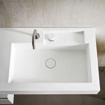 wall-hung washbasin ERGO_NOMIC by Giulio Gianturco Rexa Design