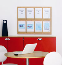 wall mounted brochure display rack FRONT by L.PETTERSSON & L.NOTMAN KARL ANDERSSON