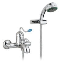 wall mounted double handle mixer tap for shower 3401**20 NICOLAZZI