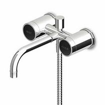 wall mounted double handle mixer tap for shower and bath-tub SAVOY - ZSA226.CN  ZUCCHETTI RUBINETTERIA