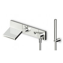 wall mounted double handle mixer tap for shower and bath-tub PAN - ZP8046 - R99695   ZUCCHETTI RUBINETTERIA