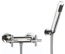 wall mounted double handle mixer tap for shower TERA 15300 FARIS Rubinetterie