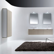 wall-mounted double washbasin cabinet K08 #4 by Giancarlo Vegni karol