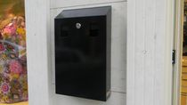 wall-mounted outdoor ashtray for public spaces ART. 3209 EKOSMOKE