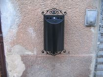 wall-mounted outdoor ashtray for public spaces EKOSMOKE 3202 OLD ITALY EKOSMOKE