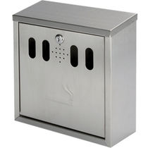wall-mounted outdoor ashtray for public spaces STUB-IT CLASSIC hygequip europe