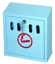 wall-mounted outdoor ashtray for public spaces SMB-109S Sunzhengde Hardware MFG