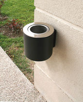 wall-mounted outdoor ashtray for public spaces Jack 220 ACCENTURBA