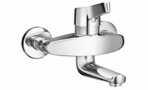 wall-mounted single handle mixer tap for washbasin SK SWAP SIMILOR KUGLER
