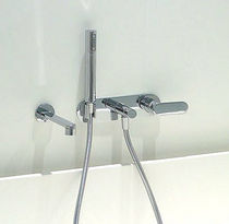 wall-mounted single handle mixer tap for bath-tub ONE by Ludovica & R. Palomba & S. Mori FLAMINIA