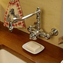 wall-mounted single handle mixer tap for kitchen Thétis C 2 trous mural MARGOT