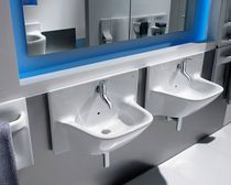 wall-mounted single handle mixer tap for washbasin FRONTALIS by Bel&eacute;n &amp; Rafael Moneo ROCA